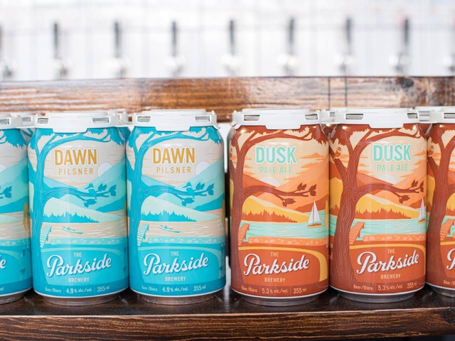 Dawn Pilsner and Dusk Pale Ale